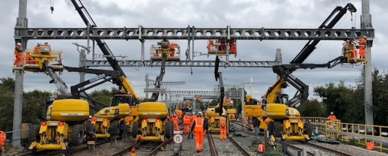 "Government needs to kick-start a ""rolling programme"" of rail electrification, say business, passenger, freight, and community groups"