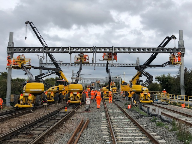 """Government needs to kick-start a """"rolling programme"""" of rail electrification, say business, passenger, freight, and community groups"""
