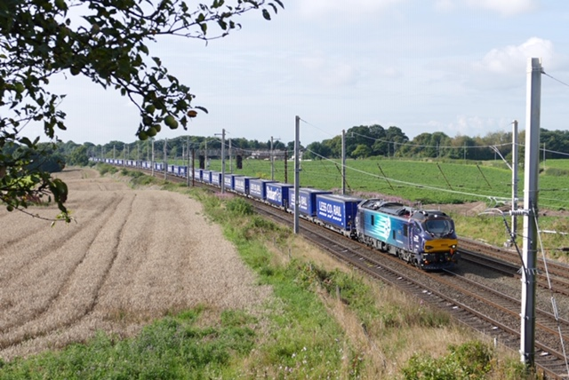 Rail freight steps up to deliver for nation
