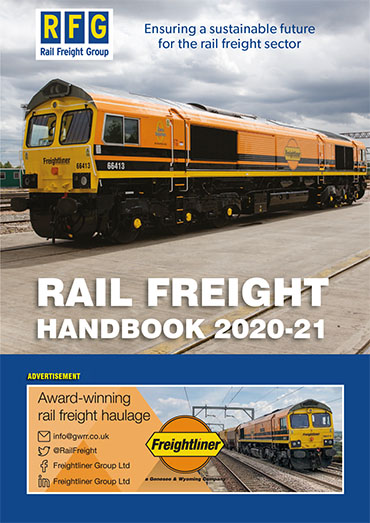 Rail Freight Handbook 2020/21 now available online
